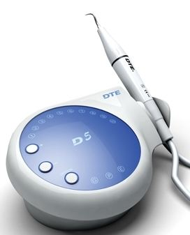 An UltraSonic Scaler a device that uses vibrations to help remove plaque.